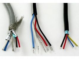 Electronic Bulk Cable | 20 Gauge with 4 Conductors | No Shield