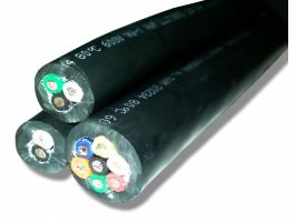 Straight Cable | 16 Gauge with 7 Conductors | 600 Volts | No Shield